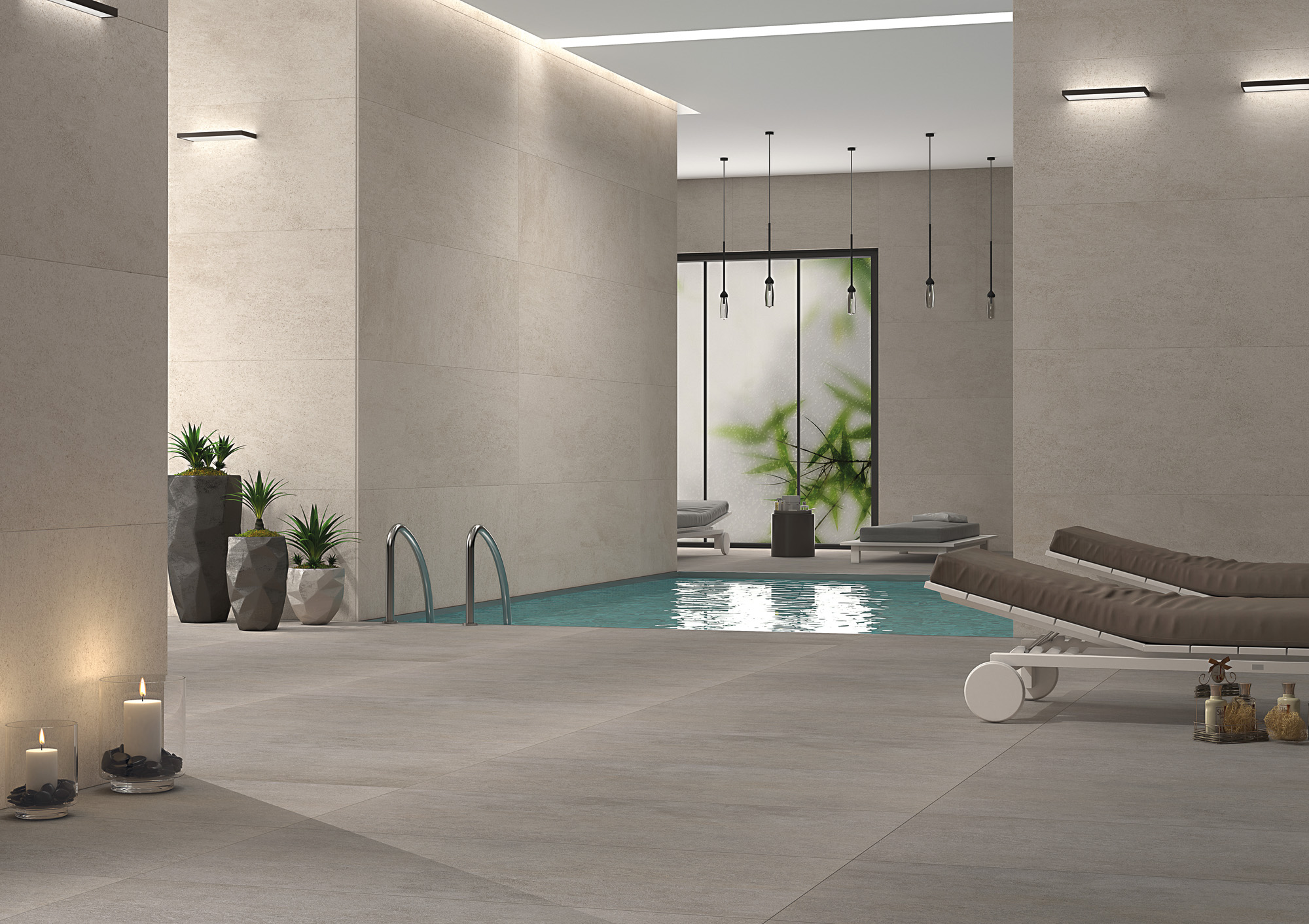 Badezimmer-Sauna-Waschbereich-mit-Wand-und-Bodenfliesen